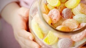 cibo per il battere della carie